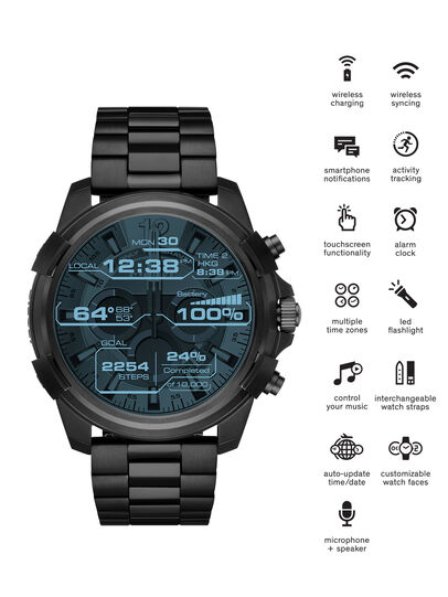 Diesel - DT2007, Black - Smartwatches - Image 1
