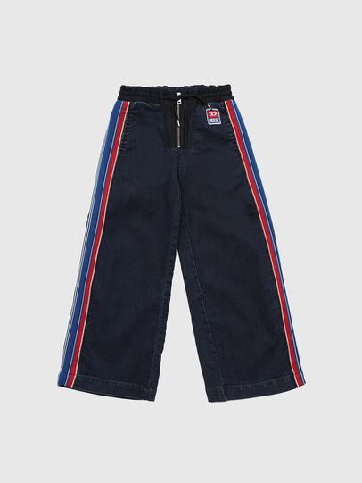 Diesel - PDERIN JOGGJEANS, Dark Blue - Pants - Image 1