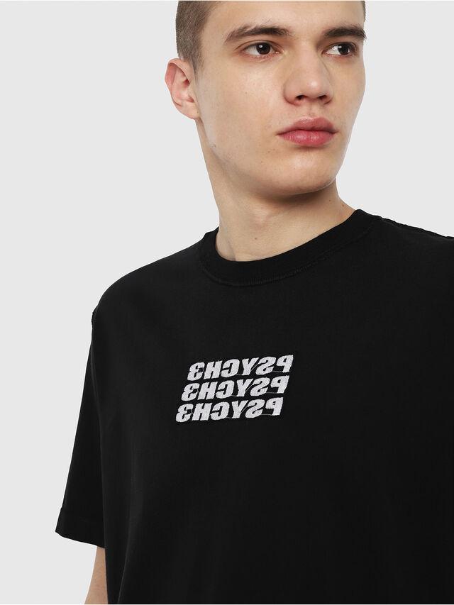 Diesel - T-JUST-Y9, Black - T-Shirts - Image 2