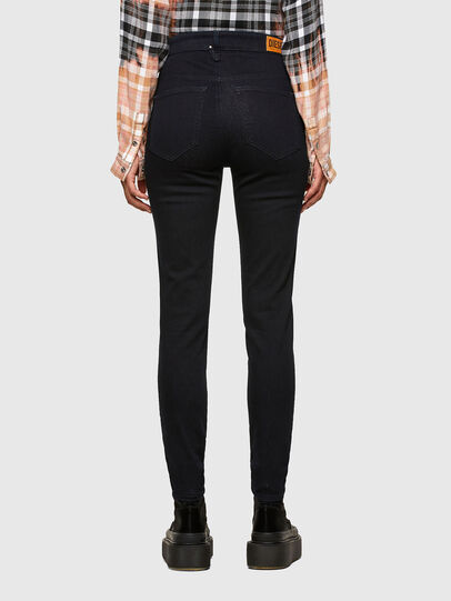 Diesel - Slandy High 009CW, Dark Blue - Jeans - Image 2
