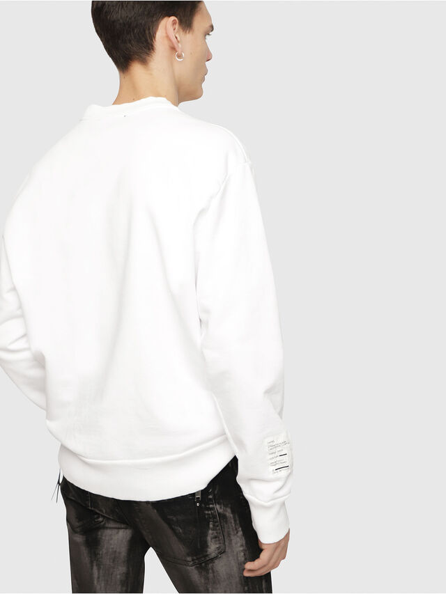 Diesel - S-BAY-YC, White - Sweaters - Image 2