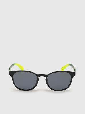 DL0328, Black/Yellow - Sunglasses