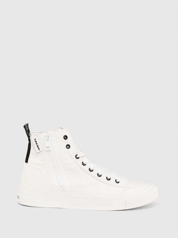 S-ASTICO MID ZIP W, White - Sneakers