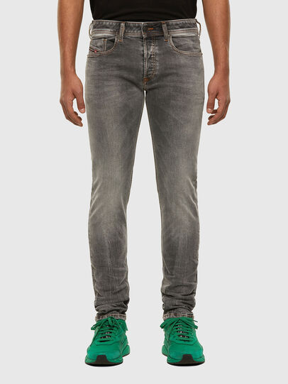 Diesel - Sleenker 009FW, Light Grey - Jeans - Image 1