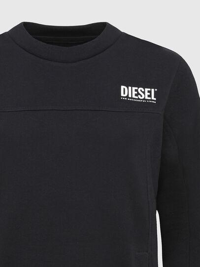 Diesel - UFLT-VICTORIAL, Black - Sweaters - Image 3