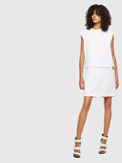Diesel - D-HATTER, White - Dresses - Image 1