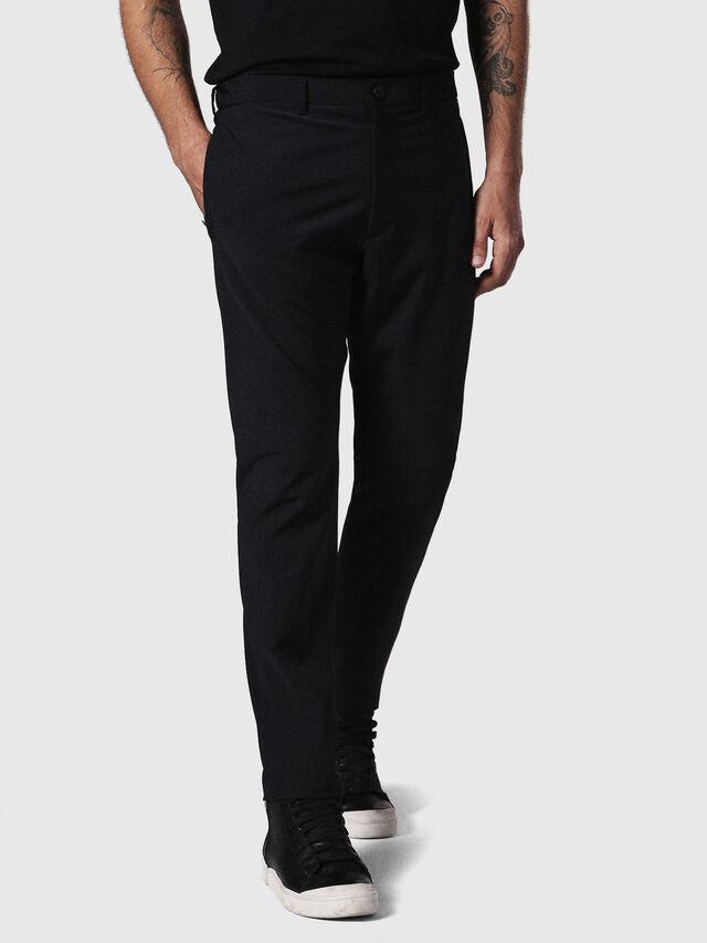 Diesel P-OLIVERY, Black - Pants - Image 3