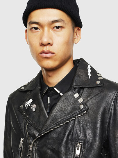 Diesel - L-GOTIV-A,  - Leather jackets - Image 3