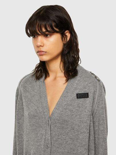 Diesel - M-CLEO, Grey - Knitwear - Image 3