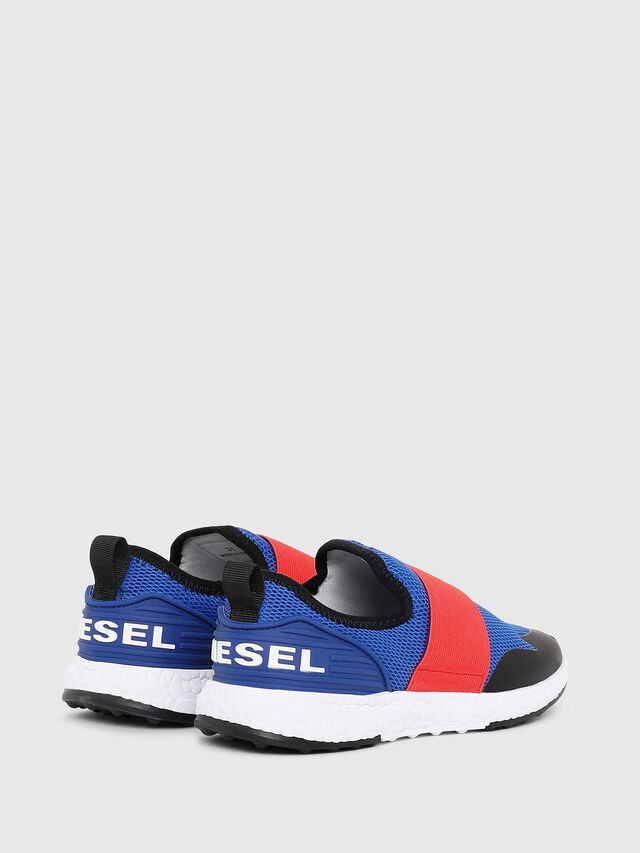 Diesel - SN SLIP ON 16 ELASTI, Blue/Red - Footwear - Image 2