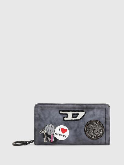 Diesel - GRANATINO, Blue - Zip-Round Wallets - Image 1