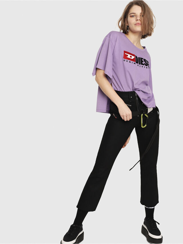 Diesel - T-JACKY-D, Lilac - T-Shirts - Image 6