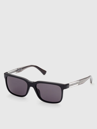 Diesel - DL0341, Black - Sunglasses - Image 2
