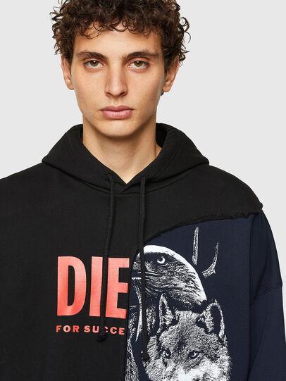 Diesel - S-BLASTY, Blue/Black - Sweaters - Image 3