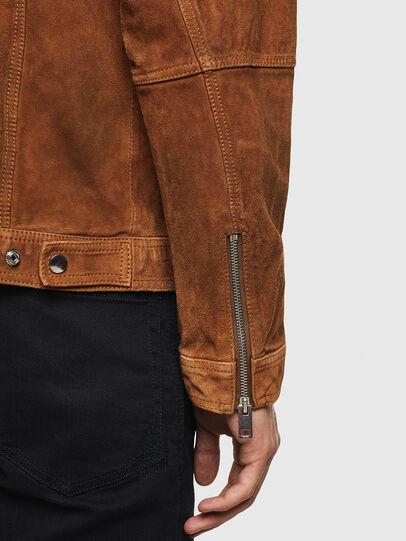 Diesel - L-DEAN,  - Leather jackets - Image 5