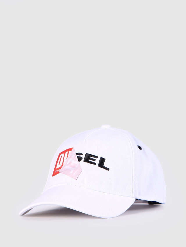 Diesel CAKERYM, White - Caps, Hats and Gloves - Image 2