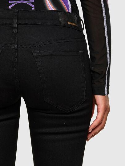 Diesel - Slandy Low 069EF, Black/Dark grey - Jeans - Image 4