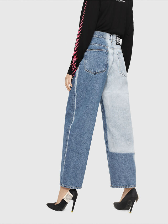 Diesel - Widee 0077V, Medium blue - Jeans - Image 2