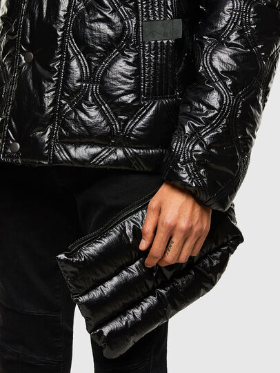 Diesel - W-CRAWFORD-SHINY, Black - Winter Jackets - Image 4