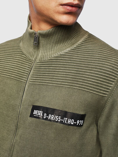 Diesel - K-FRECCY, Military Green - Knitwear - Image 3