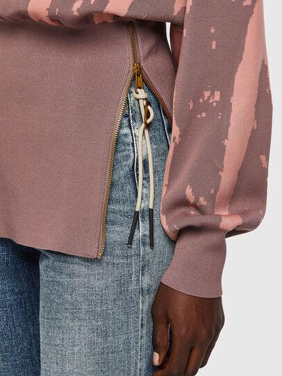 Diesel - M-ALABAMA, Pink - Knitwear - Image 3