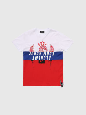 TJUSTA1, White/Red/Blu - T-shirts and Tops