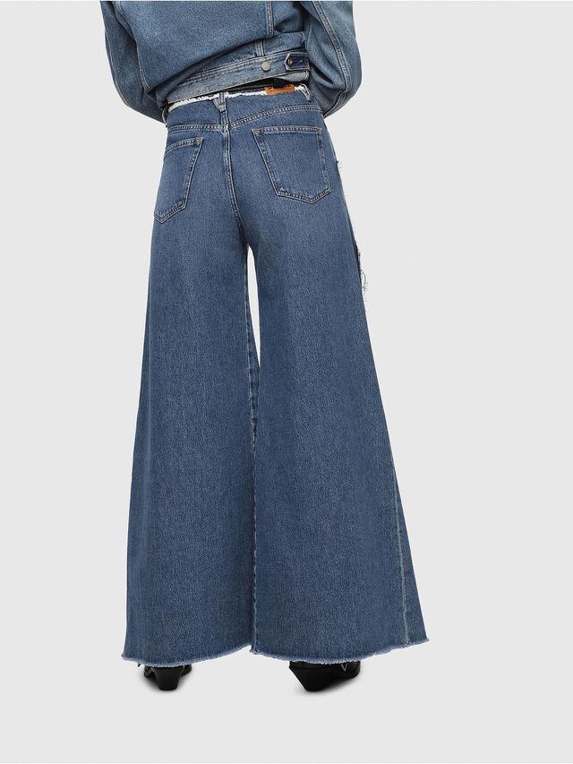 Diesel - D-Izzier 080AN, Medium blue - Jeans - Image 2