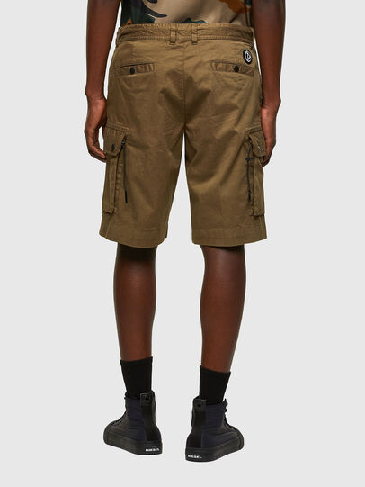 Diesel - P-APE, Military Green - Shorts - Image 2