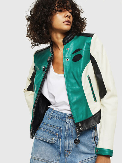 Diesel - L-ALLIE,  - Leather jackets - Image 6