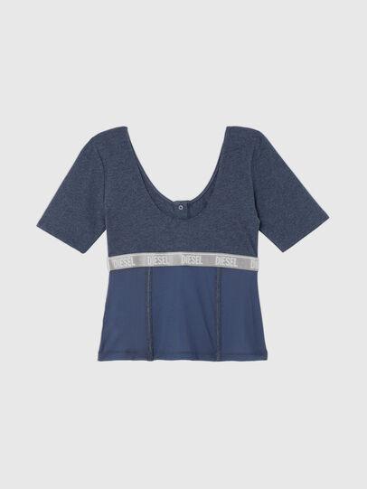 Diesel - UFTEE-TOPCUT-DN, Blue - T-Shirts - Image 2