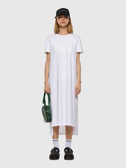Diesel - D-FELIX-LONG-E1, White - Dresses - Image 5