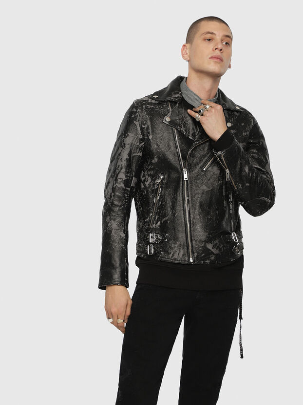 L-KRAMPIS-A,  - Leather jackets