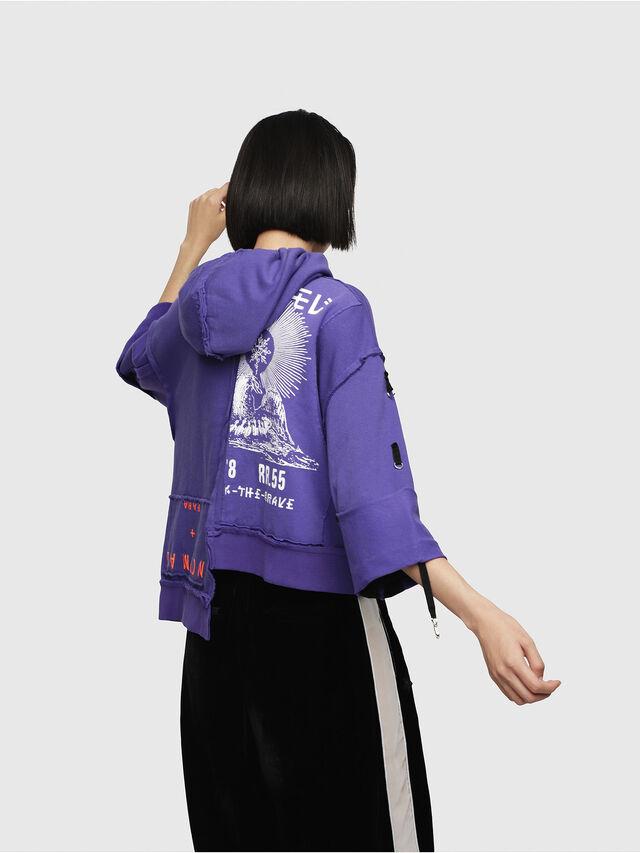 Diesel - F-MIKI, Violet - Sweaters - Image 2
