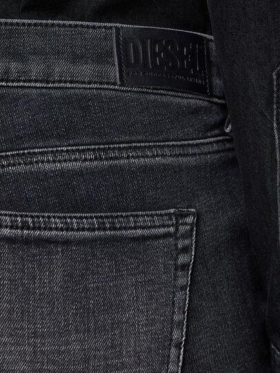 Diesel - D-Ebbey 009PW, Black/Dark grey - Jeans - Image 4
