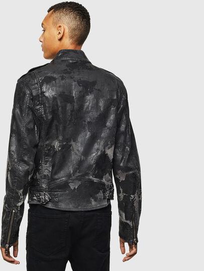 Diesel - D-JEI-SP1 JOGGJEANS, Black/Dark grey - Denim Jackets - Image 2