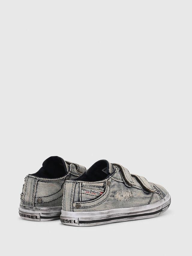 Diesel - SN LOW 11 STRAP  DEN, Grey Jeans - Footwear - Image 3