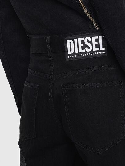 Diesel - DE-REIKA-SX, Black - Pants - Image 5