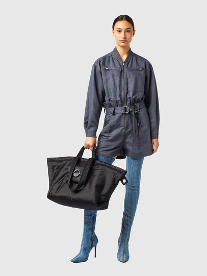 Diesel - BUNGY, Black - Shopping and Shoulder Bags - Image 7