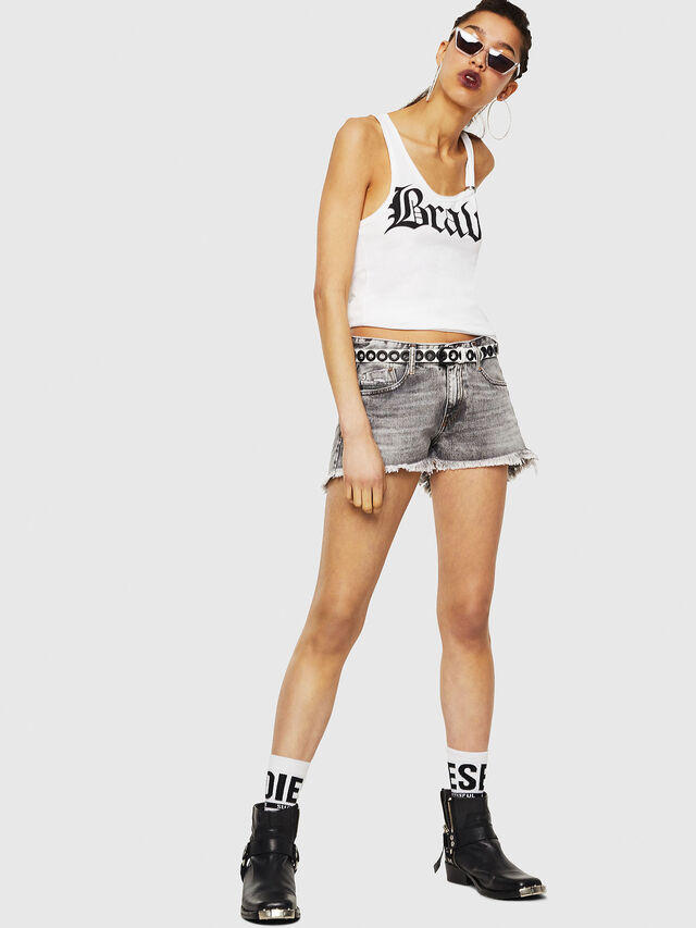 Diesel - T-KARY-A, White - T-Shirts - Image 5