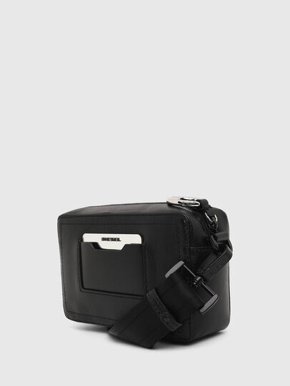 Diesel - ROSA' ML, Black - Crossbody Bags - Image 4