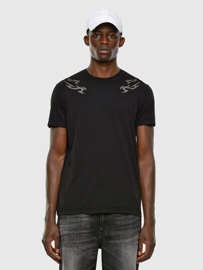 Diesel - T-DIEBIND, Black - T-Shirts - Image 5