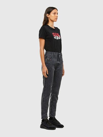 Diesel - KRAILEY JoggJeans® 069QB, Black/Dark grey - Jeans - Image 6