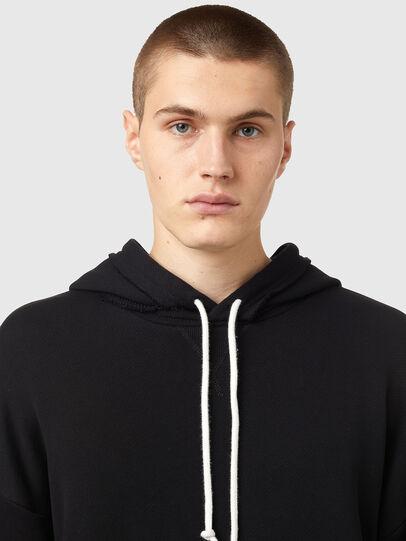Diesel - S-OBER, Black - Sweaters - Image 3