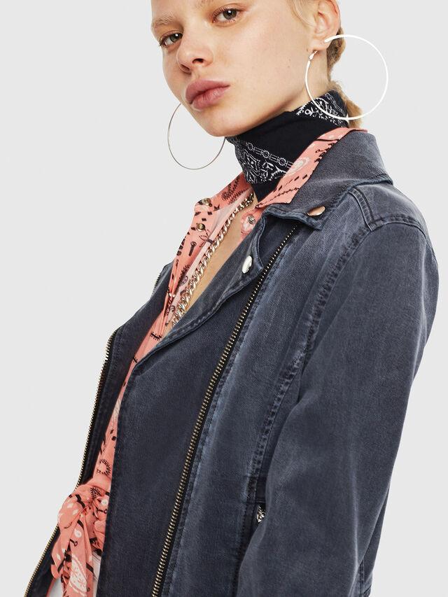 Diesel - KERBIZ JOGGJEANS, Black Jeans - Denim Jackets - Image 3