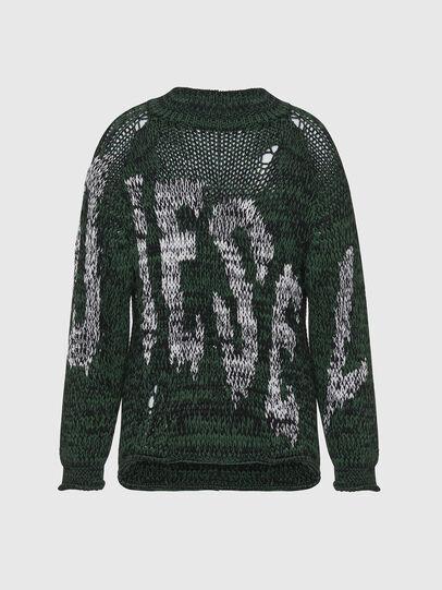 Diesel - K-FLYNN, Green - Knitwear - Image 1