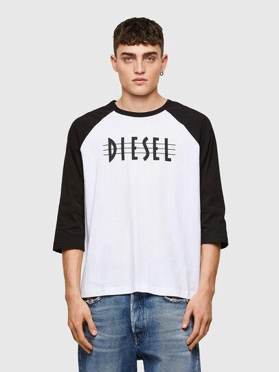 Diesel - T-BEISBOL, White - T-Shirts - Image 1