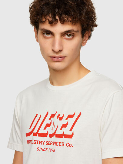 Diesel - T-DIEGOS-A5, White - T-Shirts - Image 3