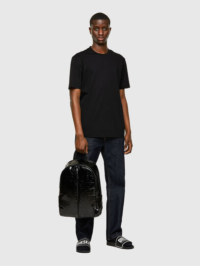 Diesel - X-BOLD BACK, Black - Backpacks - Image 6