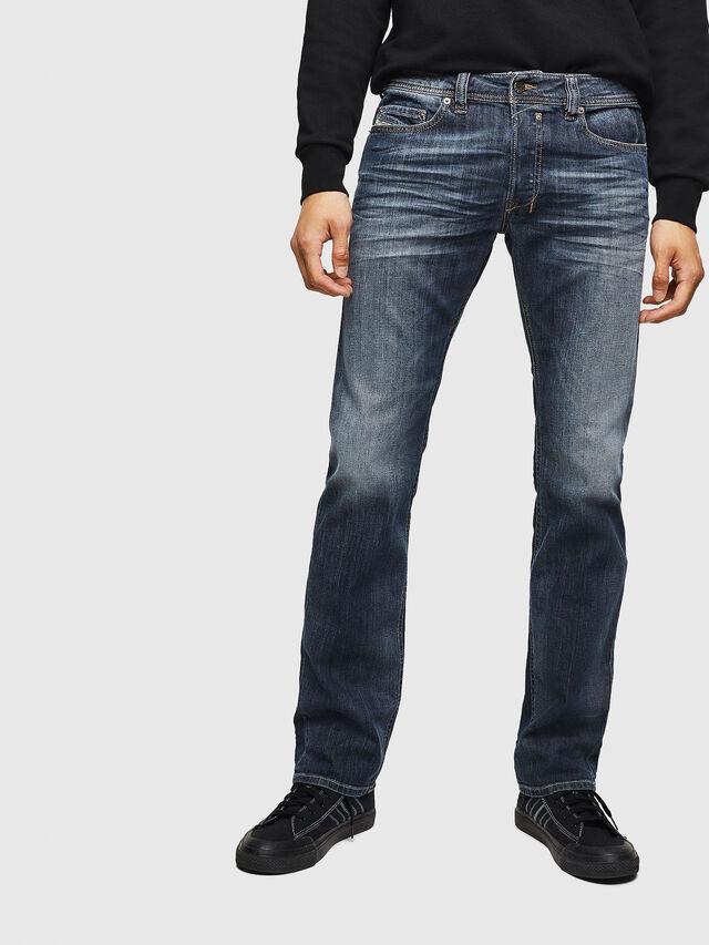 82d98cd786d SAFADO 0885K Men  Straight Dark blue Jeans