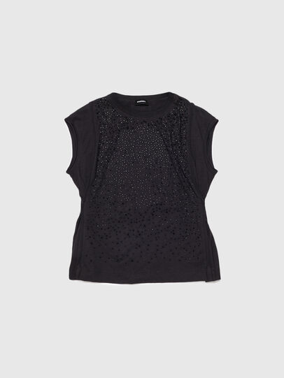 Diesel - TKALYJ, Black - T-shirts and Tops - Image 1